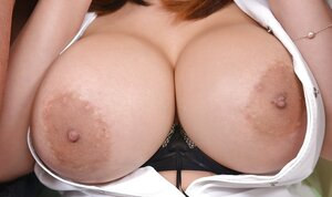 Gorgeous asian nurse with round breasts heals patients through dp